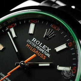 RO21986S Rolex Milgauss Unworn Close3 1