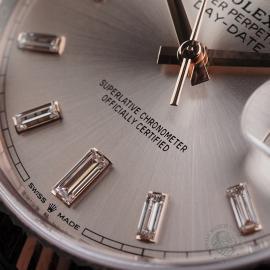 RO22329S Rolex Day-Date 40 Everose Diamond Unworn Close4