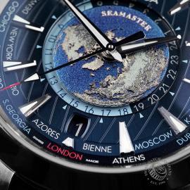 OM22669S Omega Seamaster Aquaterra Worldtime Close4