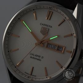 TA20800S Tag Heuer Carrera Calibre 5 Day Date  Close1