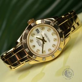 RO21247S Rolex Ladies Pearlmaster Close11