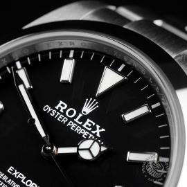 RO22447S Rolex Explorer 39 Unworn Close3