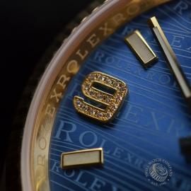 RO1816P Rolex Datejust 18ct Close9