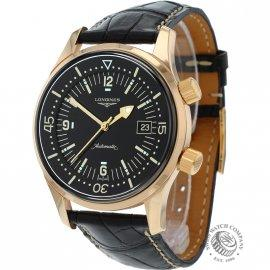 Longines Legend Diver 18ct Rose Gold